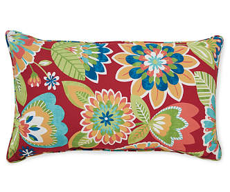 Big Lots Red Throw Pillows : Medallion Outdoor Throw Pillow, (17