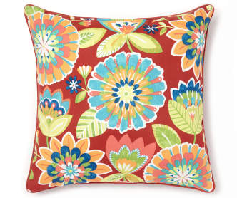 Decorative Pillows At Big Lots : Garden Bird Outdoor Throw Pillow, (20