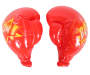 Red Inflatable Super Size Boxing Gloves silo front