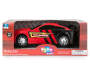 Red Light and Sound Mustang Racing Car In Package Silo Image