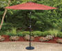Red Market Patio Umbrella, (9')