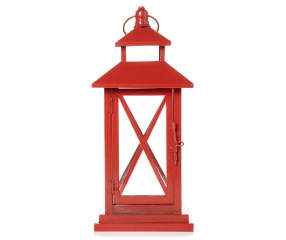 Red Metal Lantern Big Lots