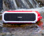 Red Portable Bluetooth® Waterproof Speaker