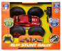 Red RC Flip Stunt Rally 2 In 1 Car silo front package view