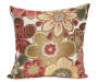 Red Siobohn Floral Decorative Pillow Silo Image