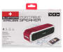 Red Waterproof Portable Bluetooth® Wireless Speaker