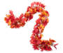 Red and Orange Maple Berry Chain Garland 6 Feet Silo Image