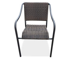 Wilson & Fisher All Weather Wicker Stacking Patio Chair | Big Lots