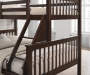 Riley Twin/Full Bunk Bed Full Headboard, Slat & Rails, Box 2 of 3