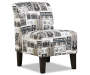 Simmons Rock N Roll Armless Accent Chair Big Lots