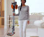Rocket Ultra Light Stick Vacuum Lightweight Carry Demo with Model Lifestyle Image