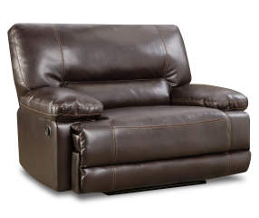 Stratolounger Roman Chocolate Snuggle Up Recliner Big Lots