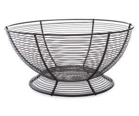 Great Gatherings Round Metal Fruit Basket Big Lots