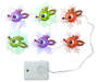 Rudolph String Light Set 6 Count Lit Up Silo Image