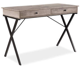 Stratford Rustic 2 Drawer Writing Desk Big Lots