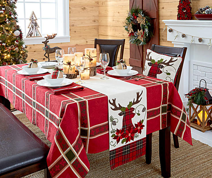 Rustic Dining Room Christmas Collection