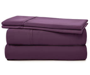 Serta Perfect Sleeper Serta Plum Cooling Sheet Sets Big Lots