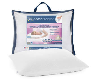 Zeopedic Cool Comfort Memory Foam Pillow Big Lots