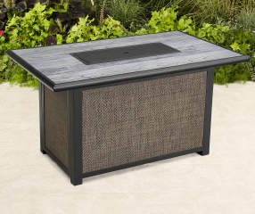 Wilson Amp Fisher Shadow Creek Stone Top Fire Pit Table 48