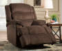 Samson Chocolate Recliner Reclined Room View