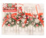 Santa Outfit Ornaments 6 Pack In Package Silo Image