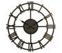 Scandia Industrial Wall Clock Silo Front