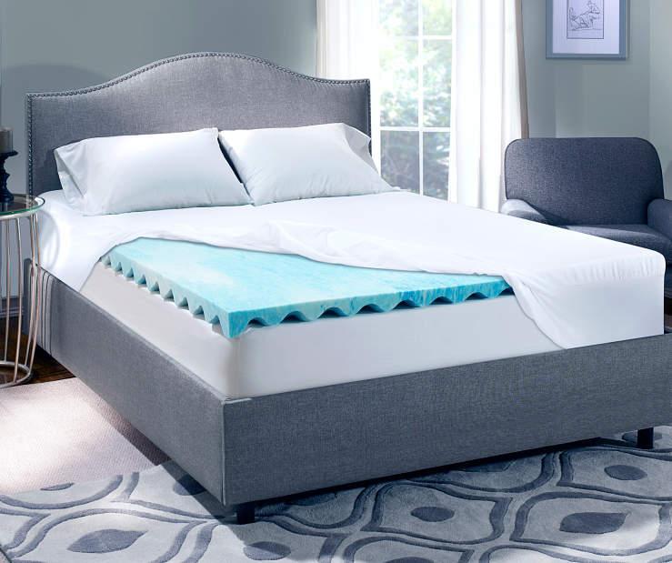 Serta Perfect Sleeper 3 Quot Gel Swirl Memory Foam Toppers
