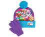 Shopkins Screen Print Hat and Glove Set Pieces Touching Silo