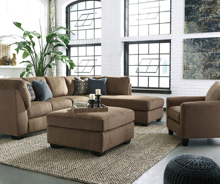 Signature design by ashley ayers living room collection for Large living room chairs