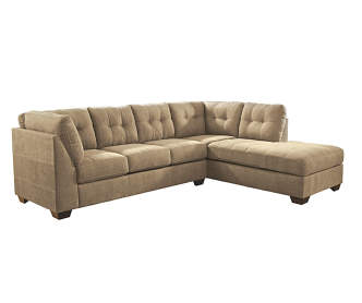 Keenum Taupe Sofa Chaise Big Lots