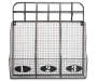 Silver Wire Basket Wall Organizer with Hooks Empty Overhead Shot Silo Image