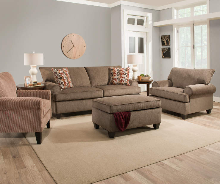 No Couch Living Room: Simmons Bellamy Living Room Collection