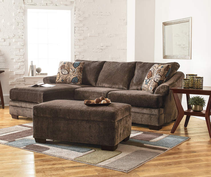 Sofa loveseat couch set living room ashley eli cafe ebay for 2 couches in small living room