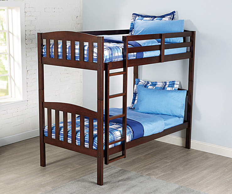 simmons tristan bunk bed 2 piece set big lots. Black Bedroom Furniture Sets. Home Design Ideas