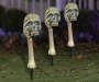 Skull In Hand Pathway Markers Set 3 Count In Yard