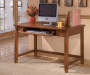 Small Cross Island Brown Desk lifestyle
