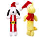 Snoopy and Woodstock Long Body Pet Toys 2 Pack silo