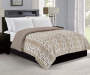 Snow Leopard Faux Fur Full/Queen Comforter lifestyle image