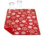 Snowflake Christmas Reversible Dish Drying Mat Corner Fold with Cups Silo Image