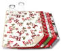 Snowflake Christmas Reversible Dish Drying Mat