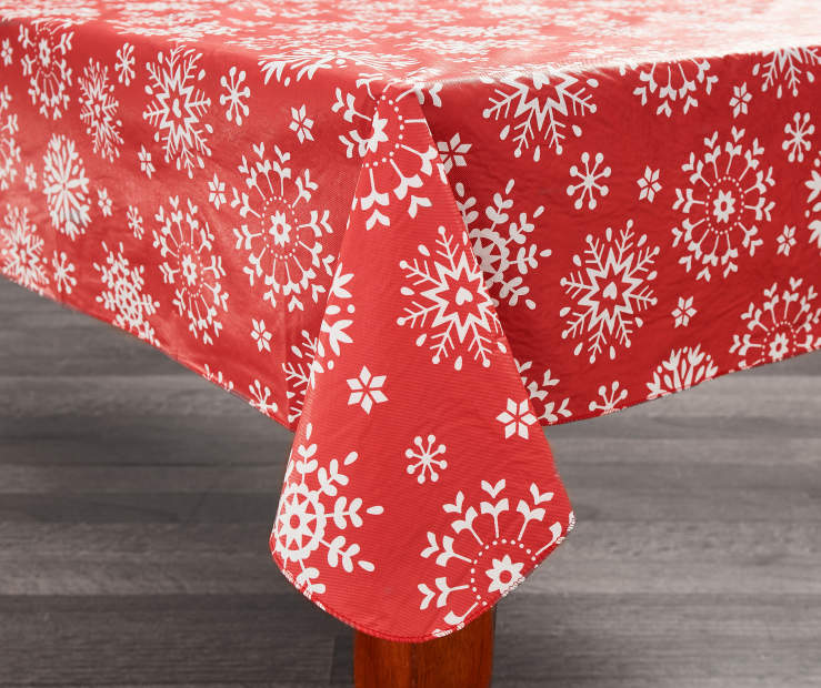 Collection Of Christmas Vinyl Tablecloths Best