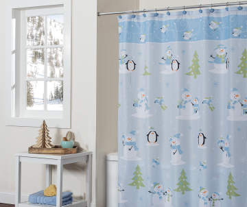 Shower curtains decor for the home big lots for Bathroom decor big lots
