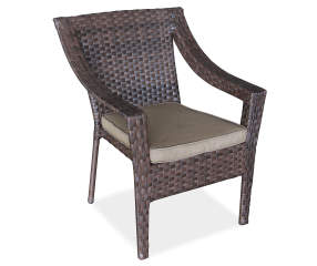 Wilson Amp Fisher Sonoma Resin Wicker Stacking Patio Chair