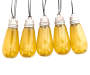 Sound Activated Flickering Light Bulb Set, 8-Count