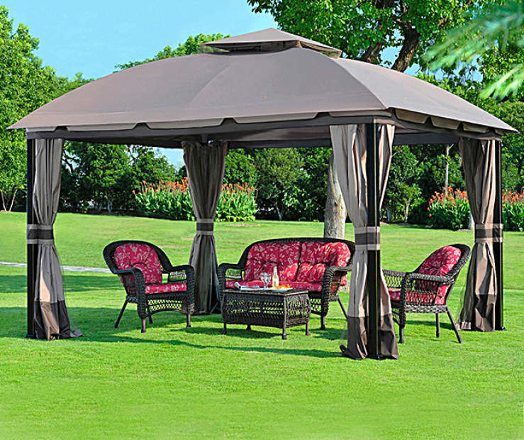 South Hampton Gazebo 10 X 12 Replacement Accessories Collection