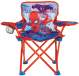 Spider Man Fold N Go Kid's Chair Front View Silo Image