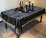 Spiderweb Lace Cloths 3-Piece Set Lifestyle Image On Table