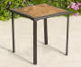 Square Tile Top Side Table 18in lifestyle