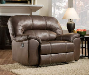 Stratolounger Stallion Brown Snuggle Up Recliner Big Lots