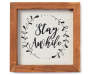 Stay Awhile Mini Box Plaque silo front